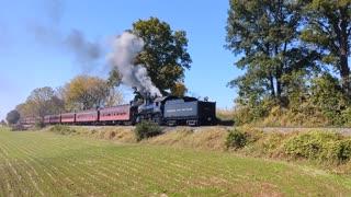 Strasburg Railroad Norfolk and Western locomotive