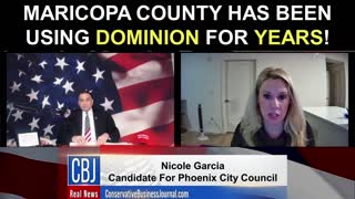 Maricopa County Has Been Using Dominion For Years!
