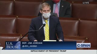 Jim Jordan EXPLODES On Senate Floor Over Impeachment