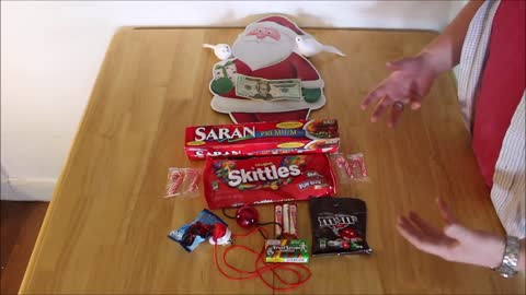 Saran Wrap Christmas Ball Party Game (Original)