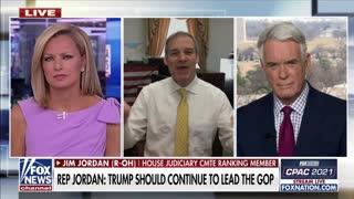 Rep. Jim Jordan on America Reports 2.26.2021