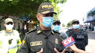 General Diego Roseo Giraldo, Comandante de la Policía Metropolitana