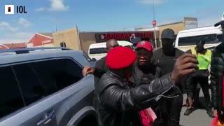 Julius Malema in Mitchells Plain