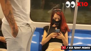 New Prank Video 2021|| Subway Prank Video || Best Funny Prank In Train Way By RSK Funny Pranks