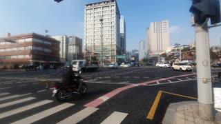 Seoul South korea Street Wangsim-ni