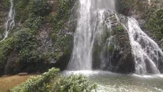 A beautiful waterfall in Assam, INDIA