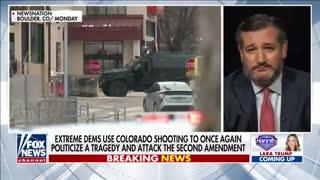 """Disarming Victims"" - Ted CRUZ Slams Biden's Gun Control Push"