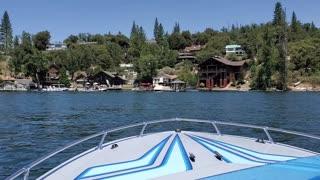 Bass Lake Boat Ride