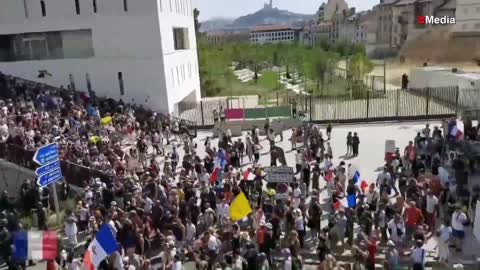Prosvjedi Francuska sve (8.2021)