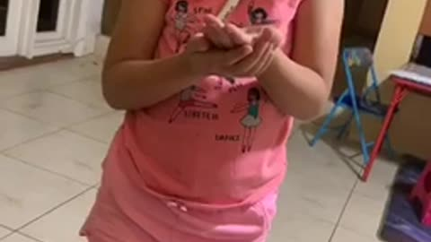 Girl Realises That Her Pet Cricket is Dead!
