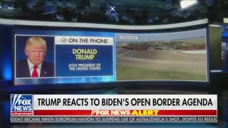 Trump Responds to Biden Admin Blaming Him For Border Crisis With a NUKE
