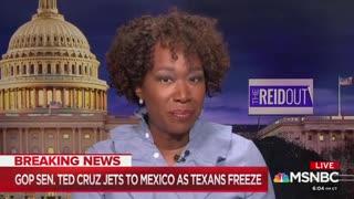 Joy Reid mocks Ted Cruz