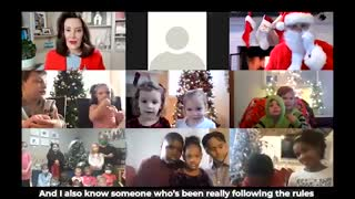 MI Gov. Whitmer Has Santa Join Zoom Call to Lecture Kids On Lockdowns