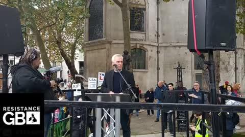 #LIVE March for Julian Assange l London Portland Place (23.10.21)