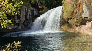Beautiful Waterfall Tranquility