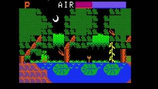 Mr Turtle level005 with alligator & bats & devils & pitchforks for intellivision