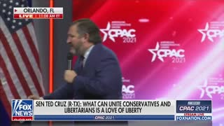Ted Cruz Gives Powerful Speech At CPAC