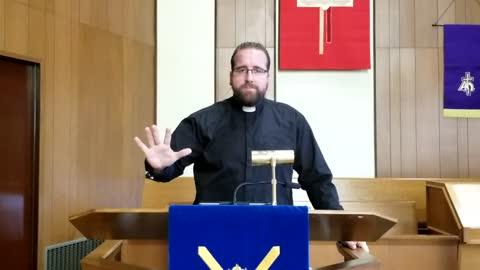 Sermon - Preach Christ Crucified - March 7, 2021