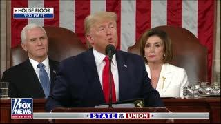 President Donald Trump Salutes One Of The Last Tuskegee Airmen 2020 SOTU