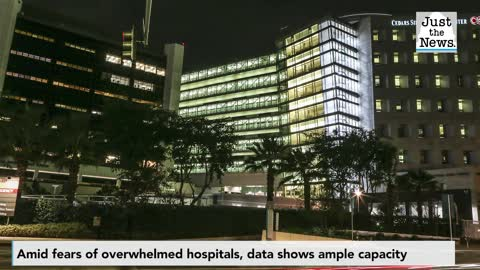 Amid fears of overwhelmed medical systems, data shows ample hospital capacity nationwide