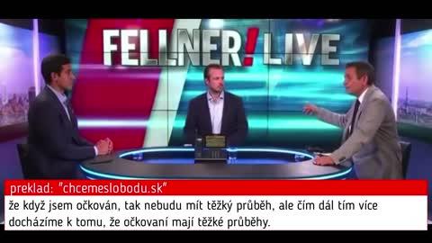V rakouské televizi: vakcína je největší fake-news fraška, která byla lidem v 21. století podaná