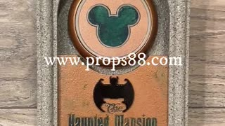 Haunted Mansion Touch Point GRAVEYARD PARK HOPPER Magic Band Scanner