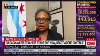 Chicago Mayor Blames Trump For Teacher Union Standoff