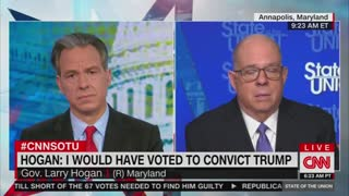 'This Is Not Over': Larry Hogan Predicts Criminal Charges For Trump