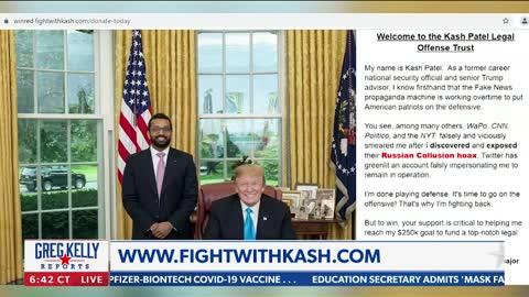 Kash Patel speaks out on Ashli Babbitt with Greg Kelly