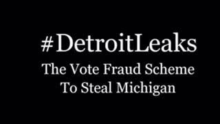 Detroit Ballot stealing, hidden mic