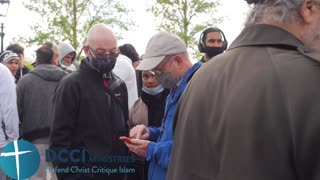 Convert to Islam walks away from Quran Preservation of the Quran Speakers Corner
