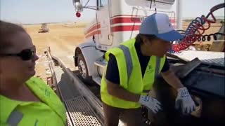 Dirty Jobs: Working With Spit