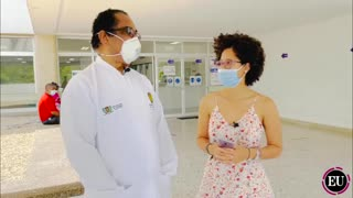 Primer vacunado en Cartagena