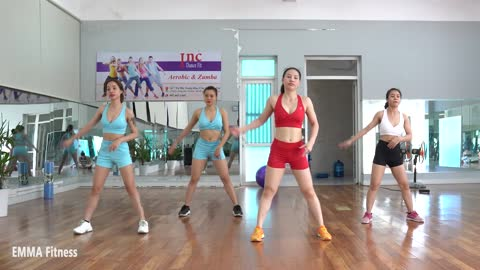 Do This Every Morning To Lose Flabby Arms & Legs, Tiny Waist - Full Body Workout - EMMA Fitnes