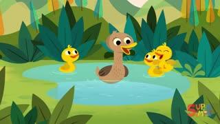Five Little Ducks Kids Songs