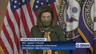 House Speaker Nancy Pelosi On Texas Disaster