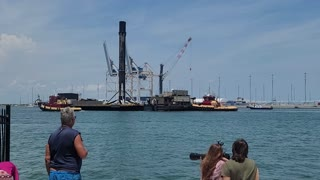 SpaceX First Stage return from Crew2 Launch 5-2-2021