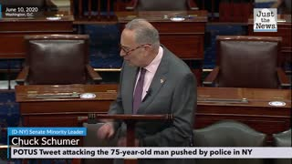 Chuck Schumer says president needs to apologize for Tweet attacking 75-year-old man in NY