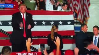 President Trump's MACHO MAN Rally Dance Is Back!