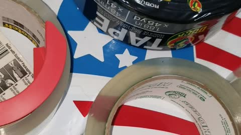 Prepping Tape