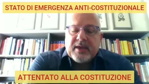Stato di emergenza anti-costituzionale, attentato alla costituzione
