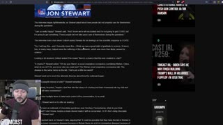 Jon Stewart SHOCKS Colbert After Insisting COVID Leaked From A Lab In Wuhan, Leftists Are OUTRAGED