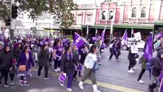 Thousands of nurses strike in New Zealand