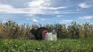Shooting Mosin 91/30 into Bottles of Water