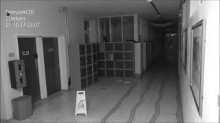 Security camera caught Ghost
