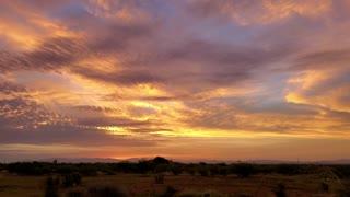 South East Arizona Sunrise July 2020