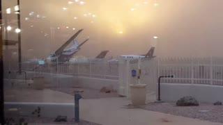Sandy Winds Blow Aircraft