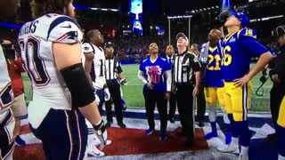 Super Bowl LIII Coin Toss
