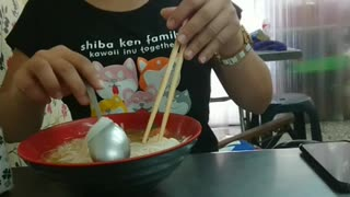 The ending when the brother took his sister to eat