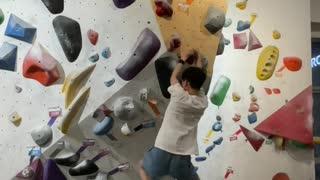 Indoor climbing / Bouldering